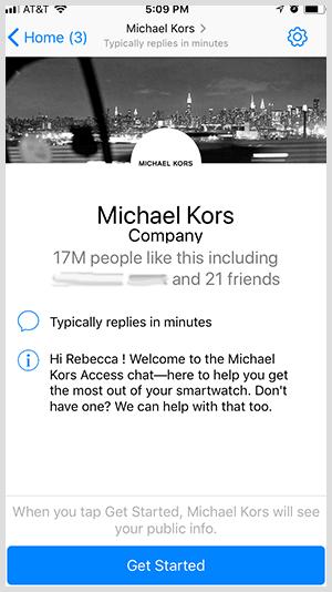 בוט של פייסבוק מסנג'ר